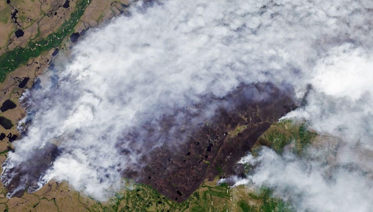ABD'den sonra Rusya da orman yangınlarıyla mücadele ediyor