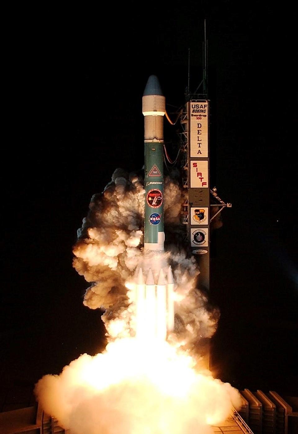 Spitzer, 25 Ağustos 2003'te Florida'daki CapeCanaveralÜssü'nden yörüngeye fırlatılmıştı.