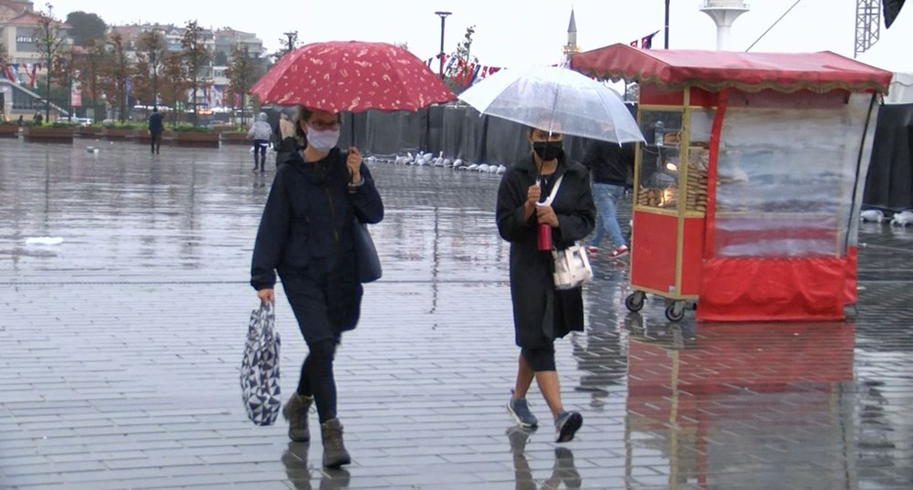 İstanbul'da sağanak yağış - 2