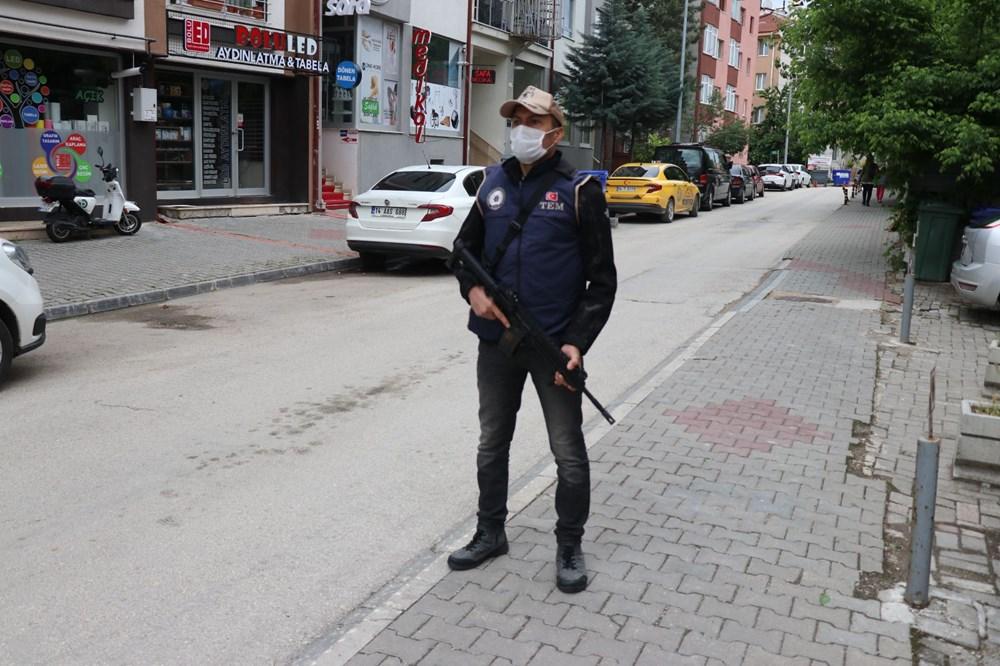 İnterpol tarafından aranan DAEŞ'liye şafak baskını - 6