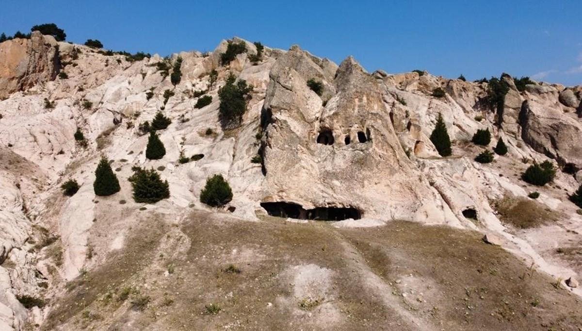 Afyonkarahisar'da Kurudere Mağaraları ve Peribacaları keşfedilmeyi bekliyor