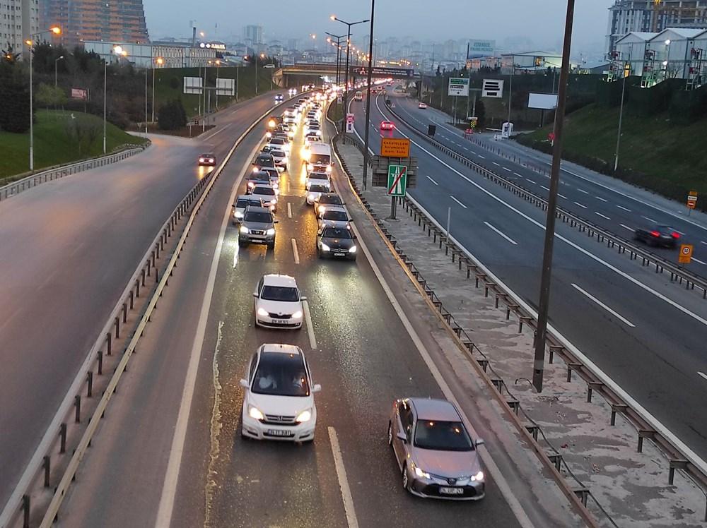 İstanbul'da, 'tam kapanma' öncesinde kaçış trafiği - 6