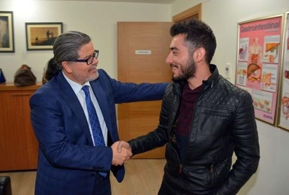 Prof. Dr. Yüksel Gümürdülü ve Salih Murat
