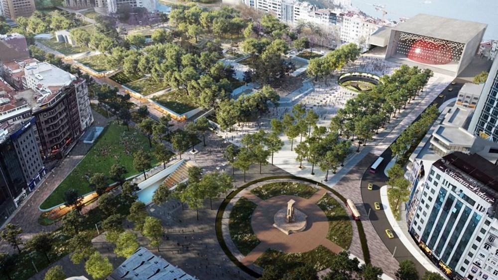 Taksim Meydanı Tasarım Yarışması sonuçlandı (Taksim Meydanı böyle olacak) - 16