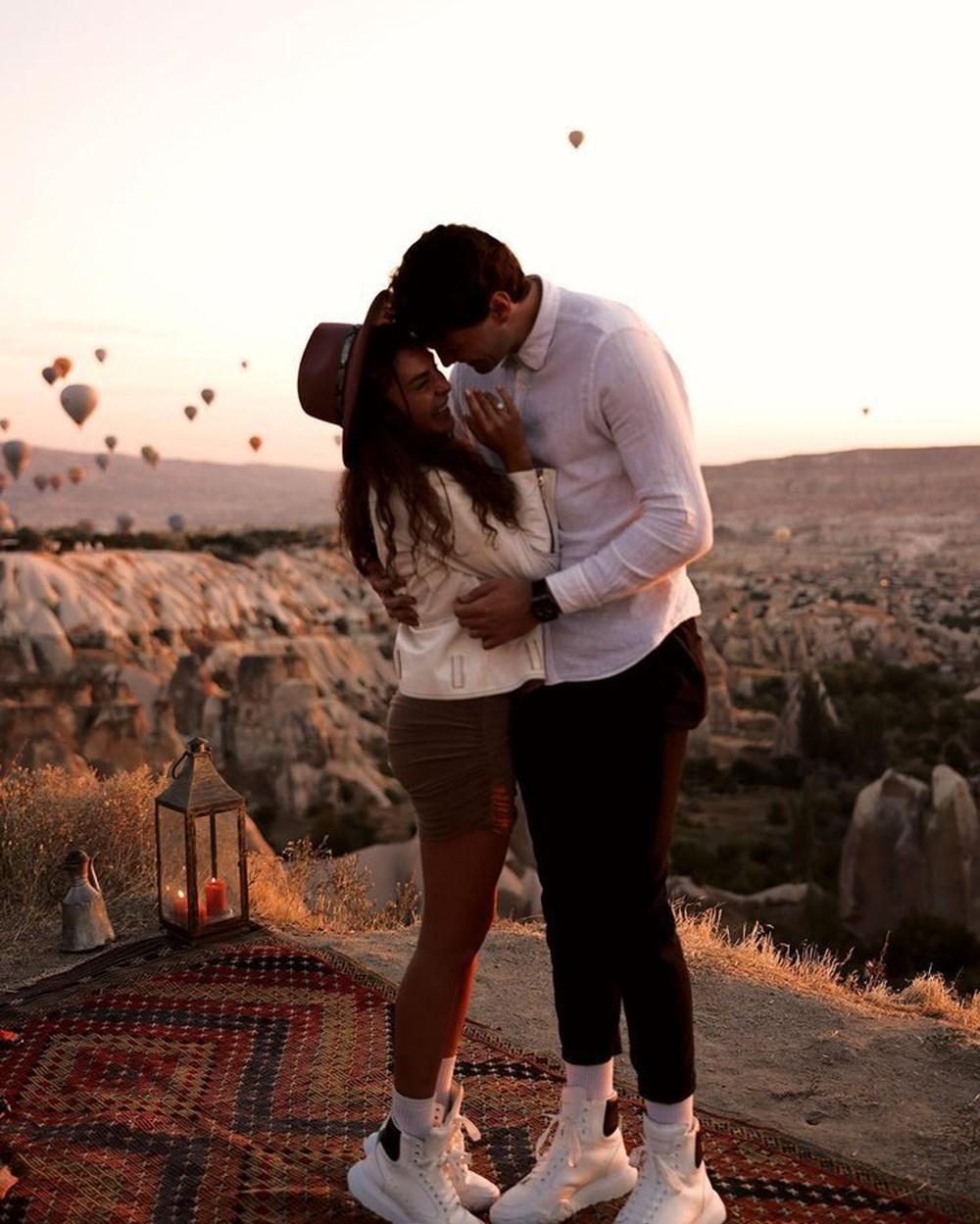 Ebru Şahin, Cedi Osman'ın evlililk teklifini kabul etti - 6