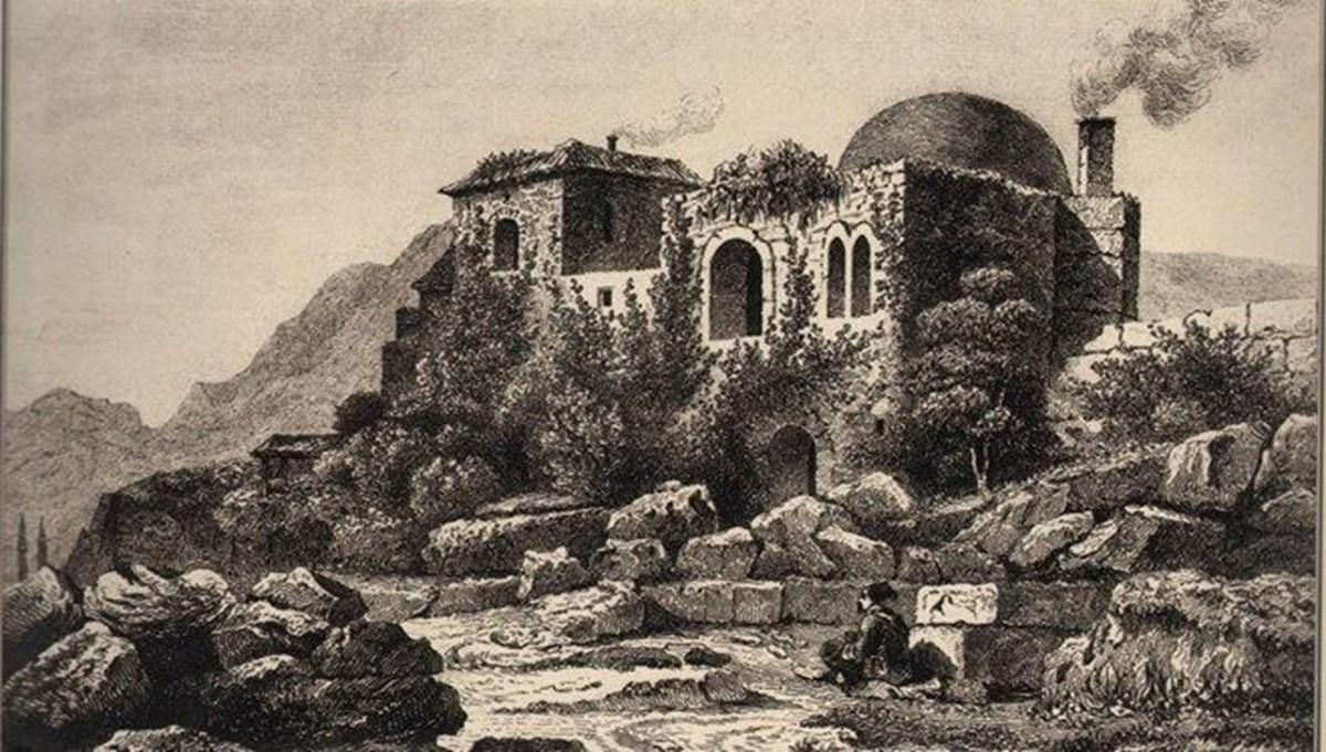 Osmanlı'nın idare merkezi Bey Sarayı'nda tarihi doku ortaya çıkıyor