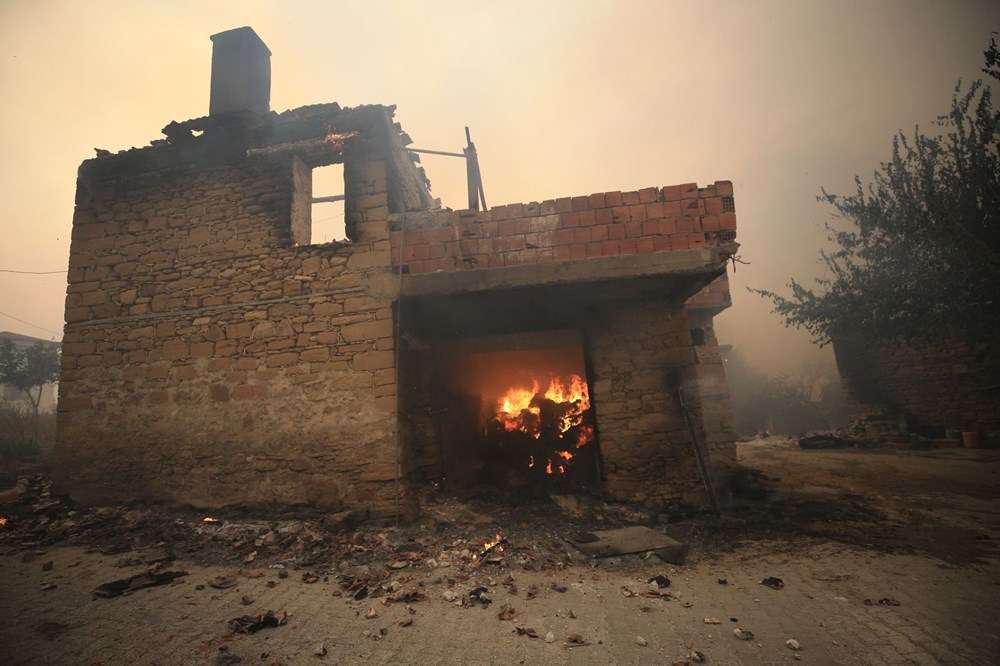 Antalya, Adana, Mersin,Muğla, Osmaniye ve Kayseri 'de orman yangınları - 9