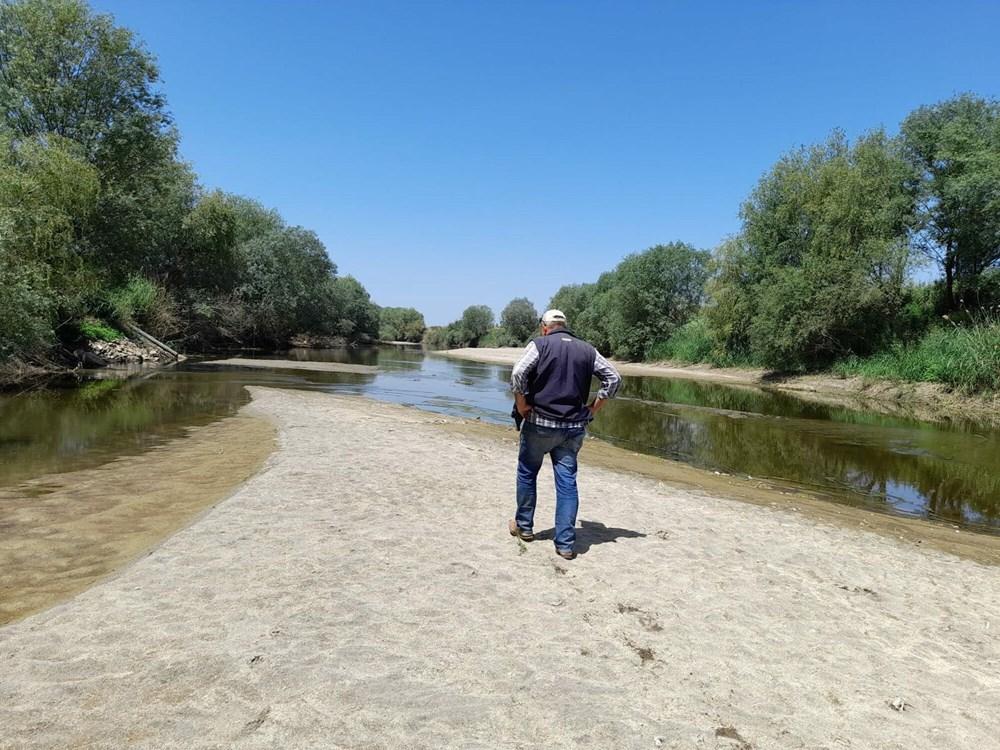 Büyük Menderes Nehri kurudu - 2