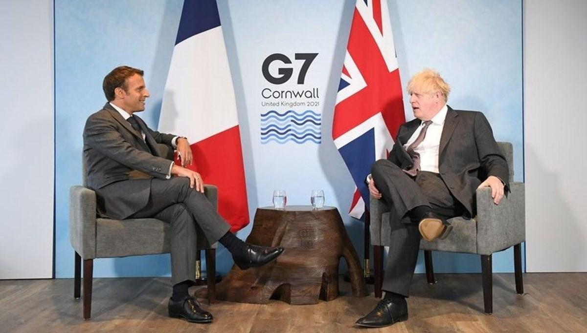 Johnson ile Macron'un G7 görüşmesi: İlişkimizi sıfırlamalıyız