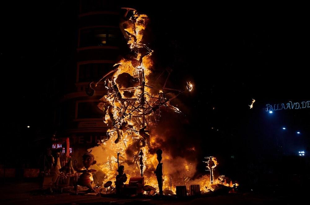 Avrupa'nın en ateşli festivali 'Las Fallas' - 11