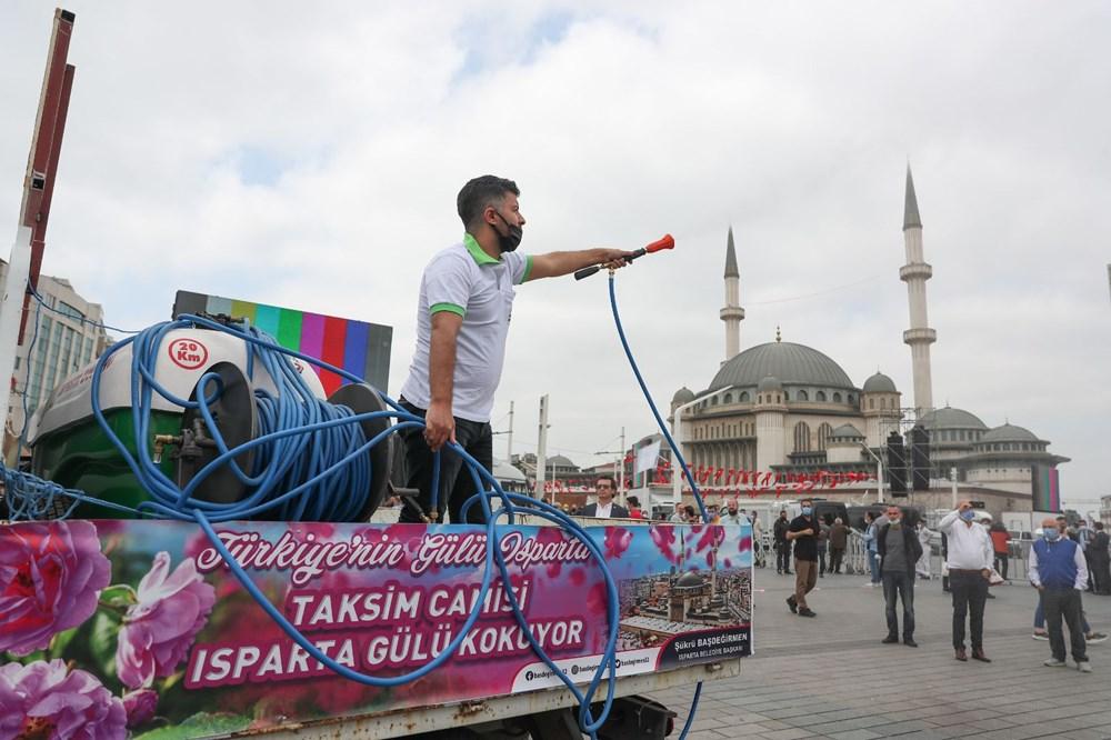 Taksim Camii için açılış hazırlıkları: Isparta'dan 25 ton gül suyu - 3
