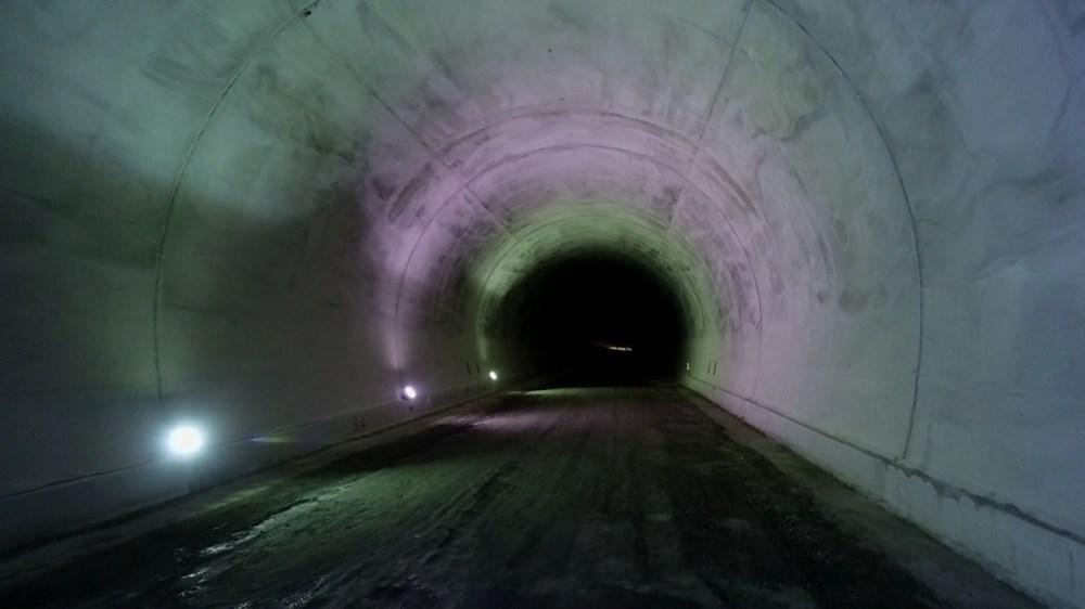 Yusufeli'nin yeni yerleşim yerine 40 tünelle ulaşılacak - 8