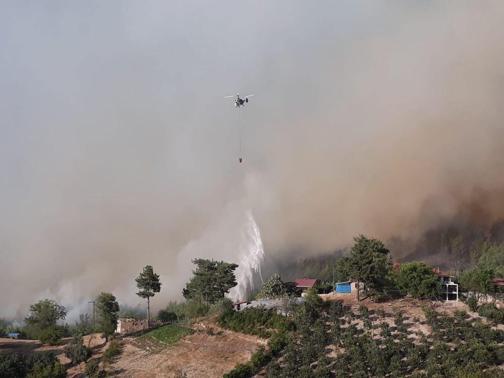 Adana'da orman yangını: 8 köy boşaltıldı - 23
