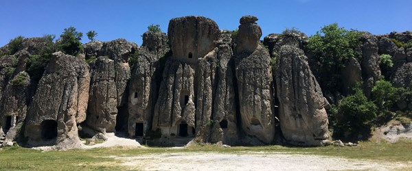 Konya'nın peribacaları: Kilistra Antik Kenti