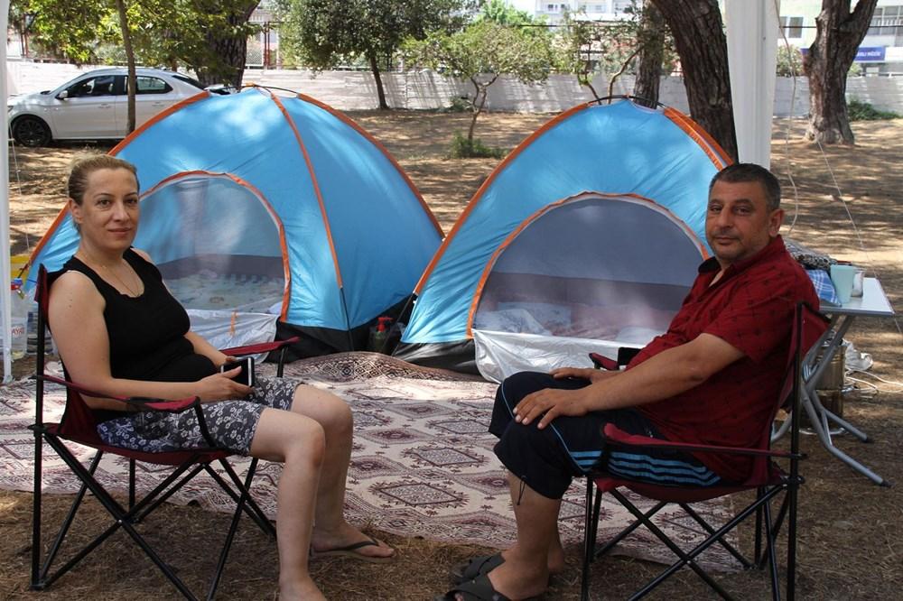 Sahiller çadır kente döndü: Günlüğü 45 liraya tatil - 14