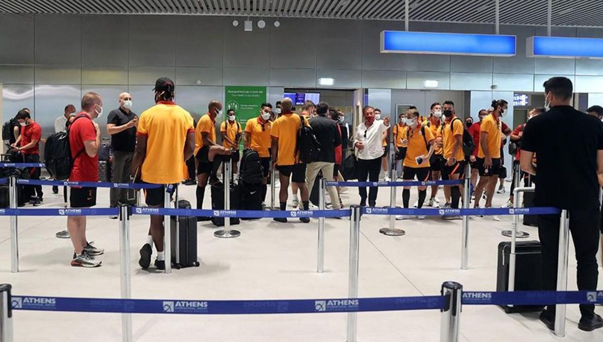 Galatasaray'a Yunanistan'da çirkin tavır