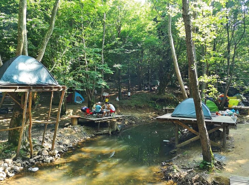 İstanbul çevresindeki en iyi kamp alanları - 20