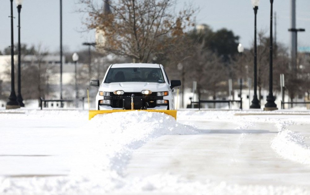 Teksas'ta kar fırtınası: En az 21 kişi hayatını kaybetti - 13