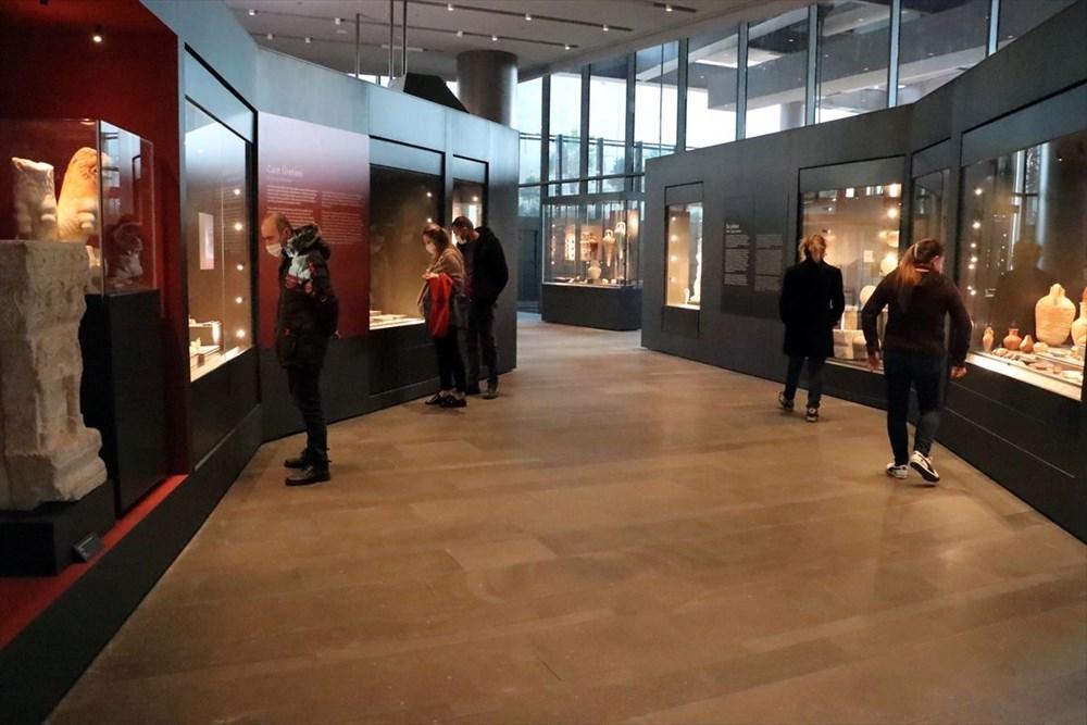 Hatay'da beş dönemin izlerini taşıyan Necmi Asfuroğlu Arkeoloji Müzesi ziyaretçilerini zaman yolculuğuna çıkarıyor - 1
