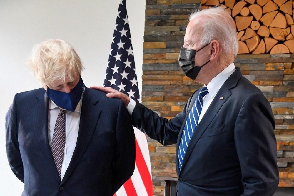Joe Biden hediye diplomasisi ile gündemde: Putin'e gözlük, Johnson'a bisiklet - 5