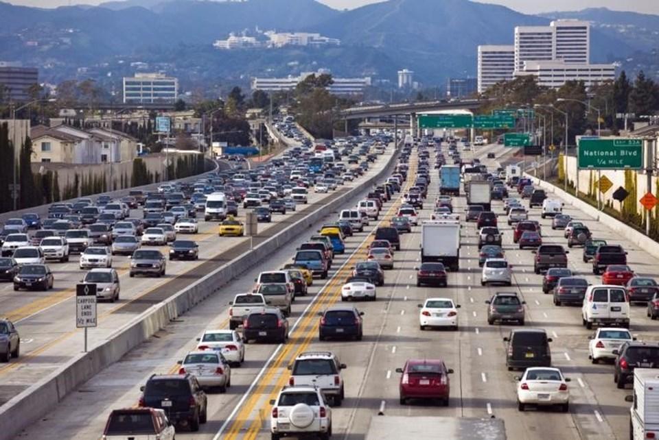 Los Angeles: San Diego otobanı