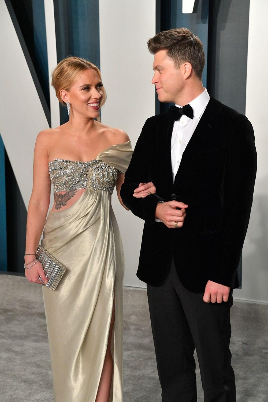 Scarlett Johansson ile komedyen Colin Jost evlendi - 4