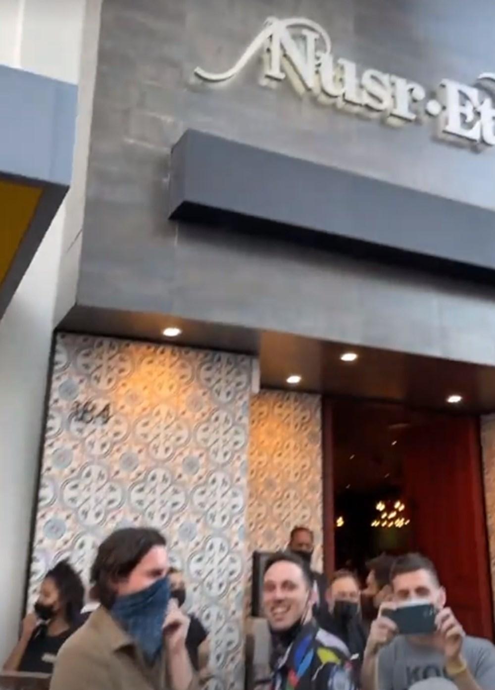 Nusret Amerika'daki beşinci restoranını Beverly Hills'te açtı - 7