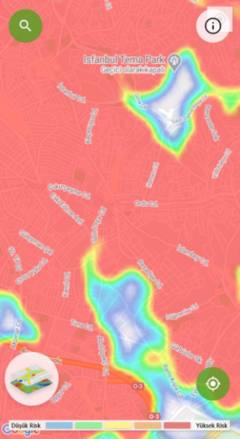 Corona haritası kızarıyor (İstanbul'un en güvenli ilçeleri) - 27