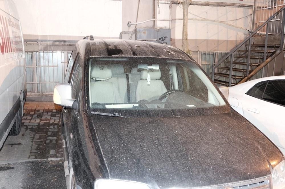 İstanbul'da gece çamur yağdı, vatandaşlar soluğu oto yıkamacılarda aldı - 5