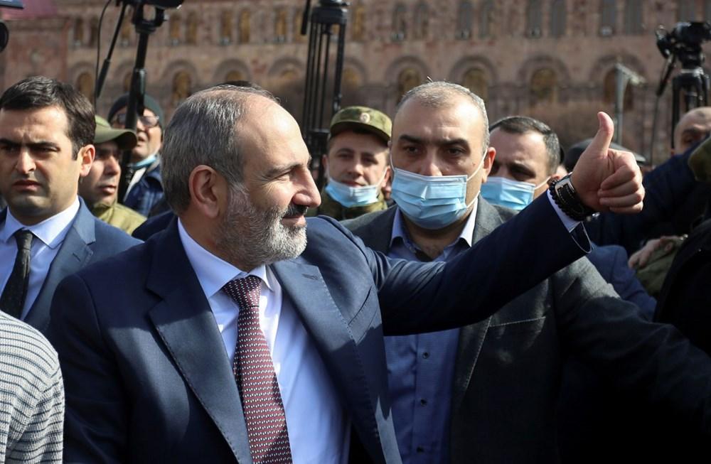 Ermenistan'da darbe girişimi: Paşinyan destekçileri ve karşıtları meydanlara çıktı - 10