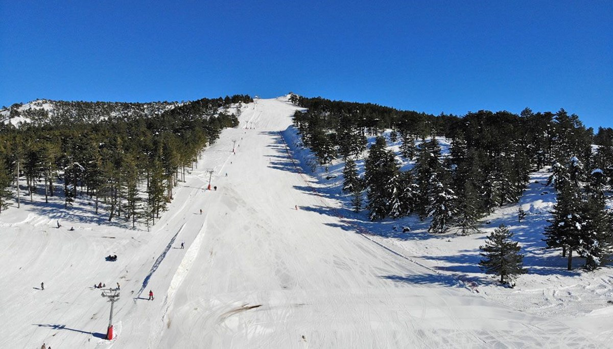 The place where skiing and thermal meets: Murat Mountain