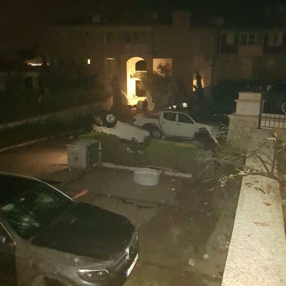 İzmir Alaçatı'da hortum: 16 yaralı - 2
