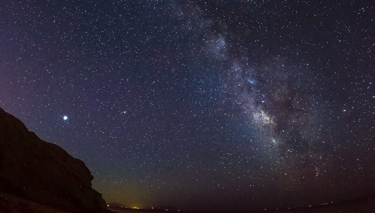 İzmir'den Samanyolu Galaksisi manzaraları