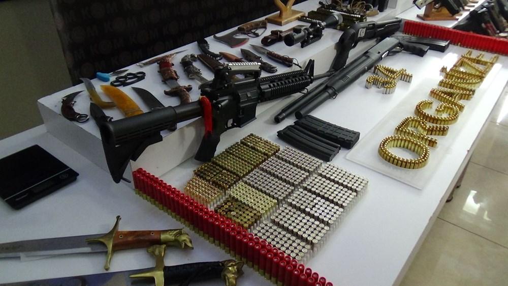 İşte Sedat Peker operasyonunda ele geçirilen silahlar - 7