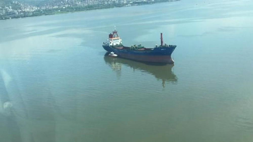 Denizi kirleten gemiye suçüstü - 5