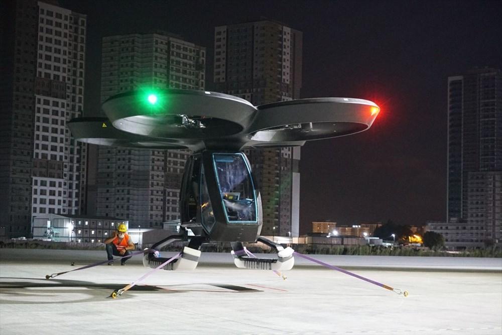 Türkiye'nin ilk uçan arabası CEZERİ ilk uçuşunu tamamladı - 4