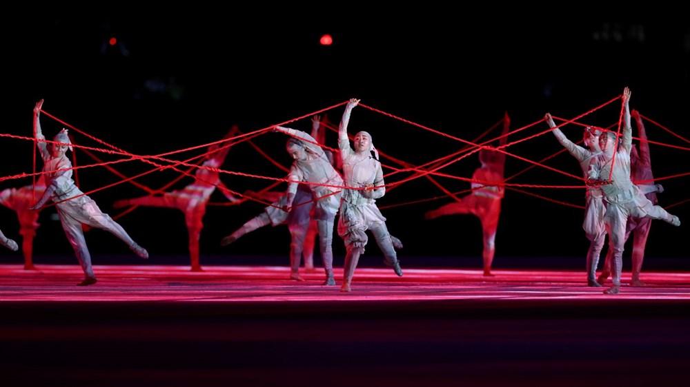 2020 Tokyo Olimpiyatları görkemli açılış töreniyle başladı - 3