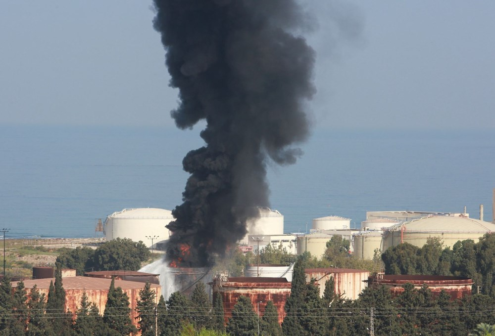 Lübnan'da petrol tesisinde yangın - 5