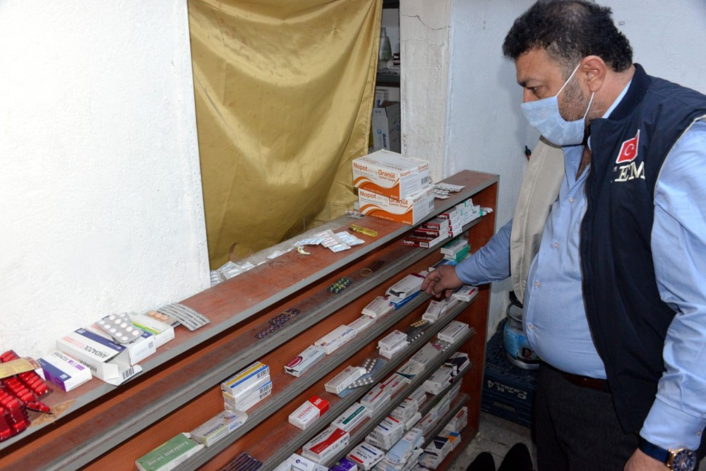 Suriyelilerin işlettiği 6 kaçak kliniğe polis baskını - 16
