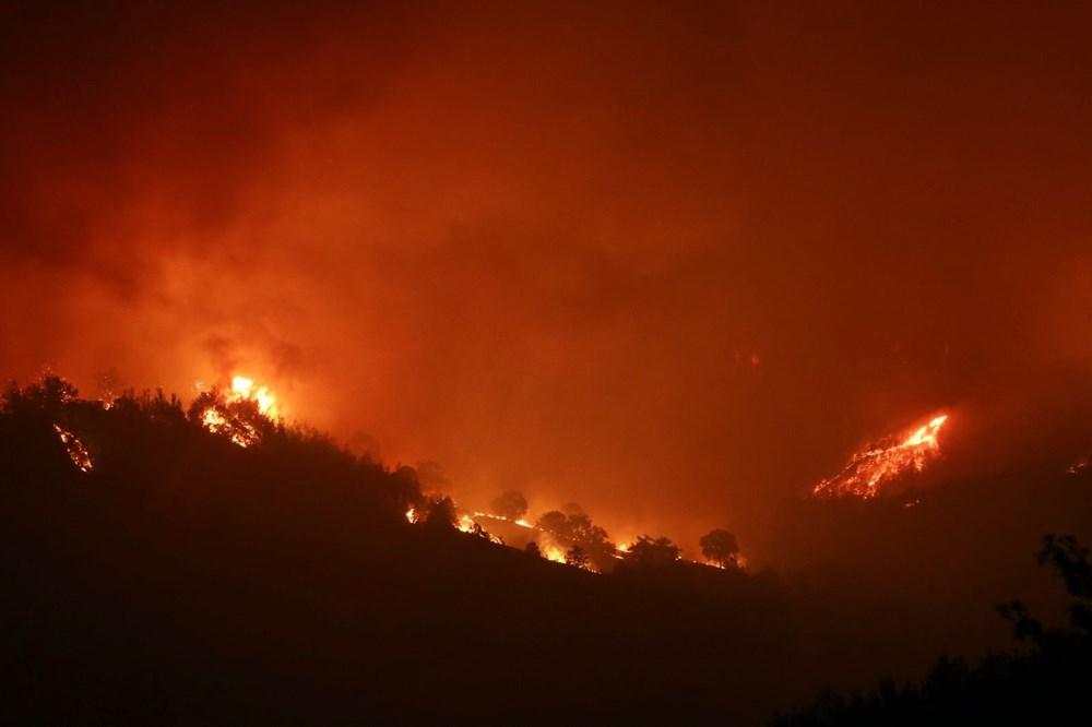 Adana'da orman yangını: 8 köy boşaltıldı - 16