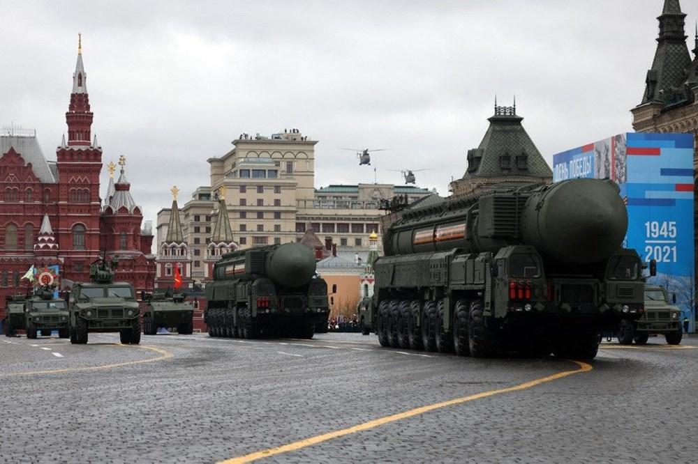 Rusya'da Zafer Günü kutlamaları: Moskova'da askeri geçit töreni - 8