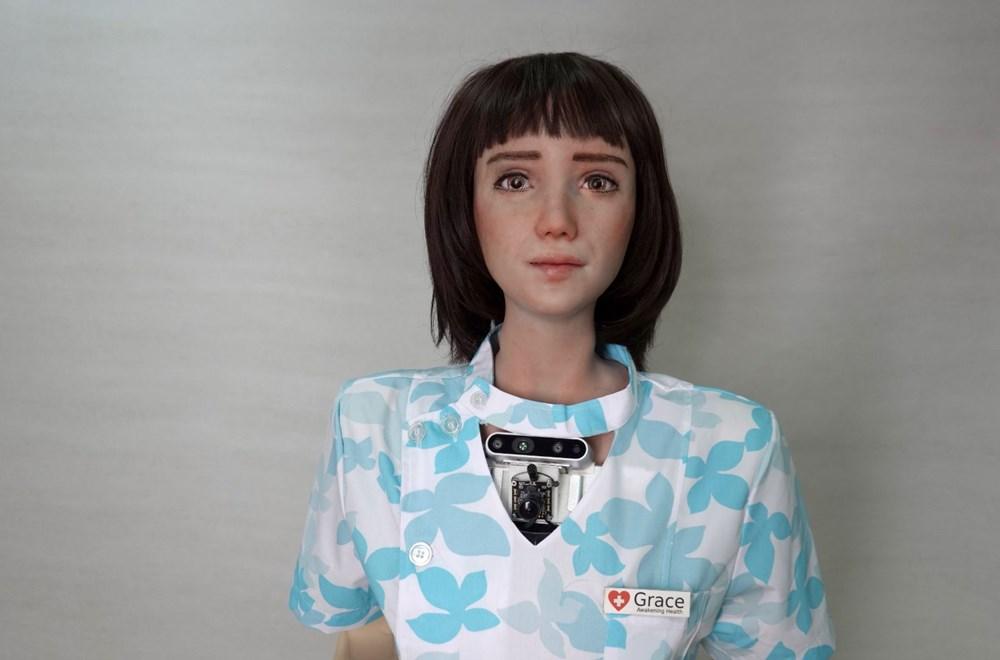 Robot Sophia'ya kardeş geldi: Robot hemşire Grace - 6