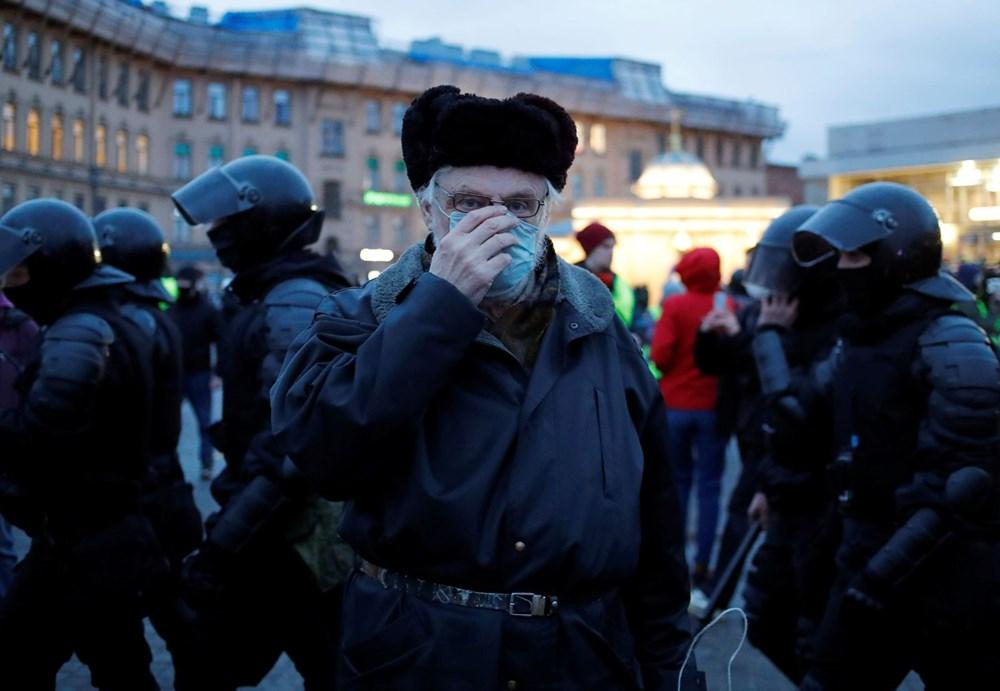Rusya'da Navalny protestoları: Bin 700'den fazla kişi gözaltına alındı - 26