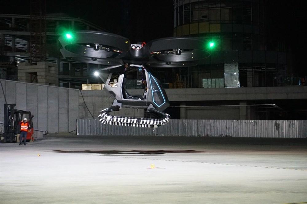 Türkiye'nin ilk uçan arabası CEZERİ ilk uçuşunu tamamladı - 13