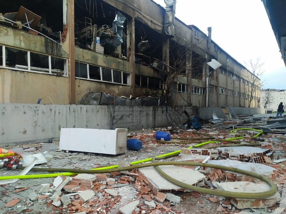 Bağcılar'da ambalaj fabrikasında patlama - 3