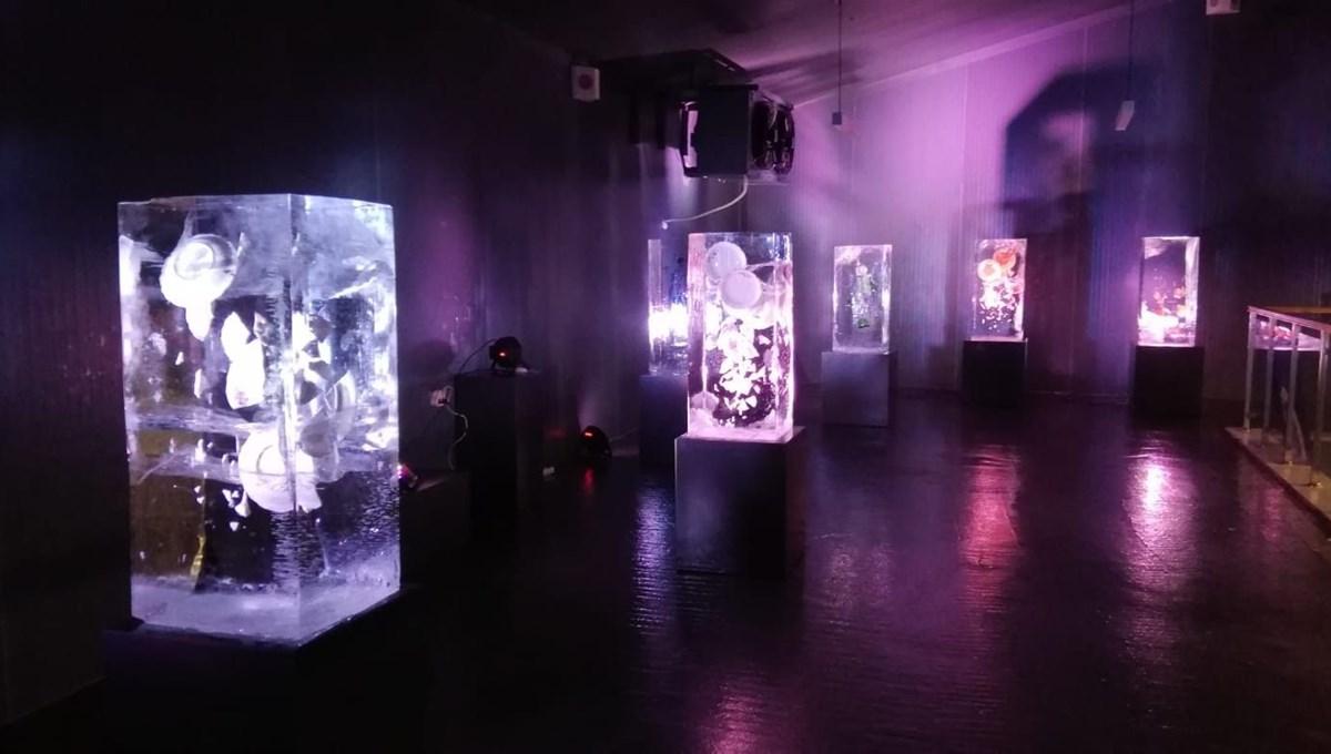 Buz'u sanata dönüştürdüler: Atabuz Müzesi 2021 yılının ilk ayında iki farklı sergiye ev sahipliği yapıyor