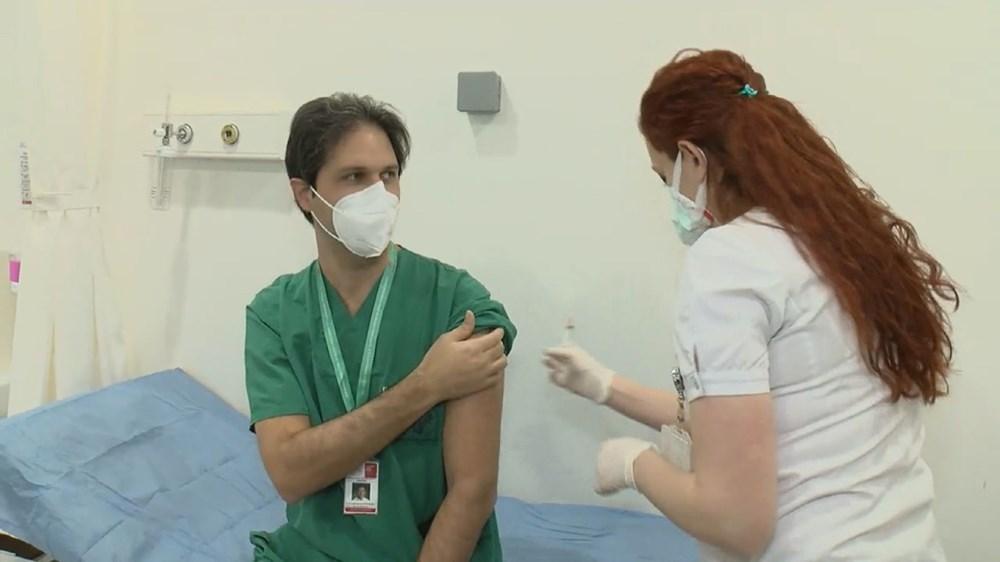 İstanbul'da ilk aşılar sağlık çalışanlarına yapılıyor - 5