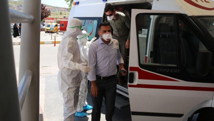 Nevşehir Adliyesi'nde şüpheli toz paniği
