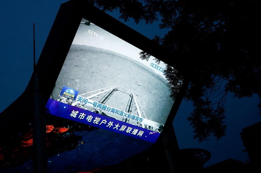 Çin'in uzay aracı Zhurong, Mars'ta ilk sürüşünü gerçekleştirdi - 2