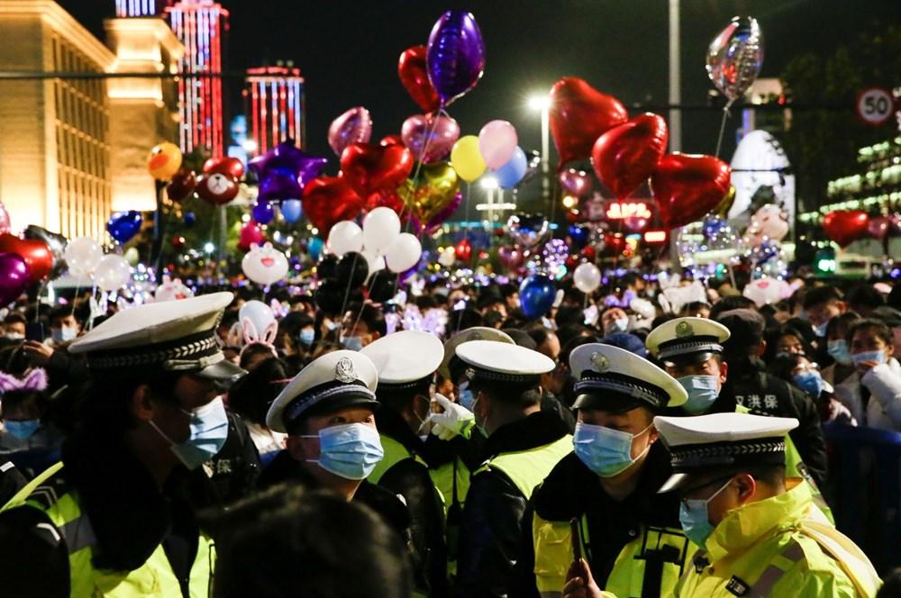 Wuhan'da yeni yıl kutlamaları - 9
